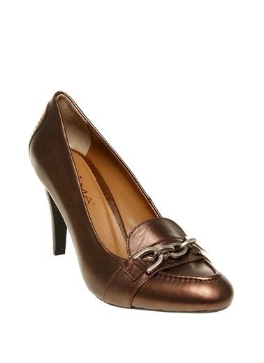 Prima Prima Vısne Topuklu Ayakkabı Bordo